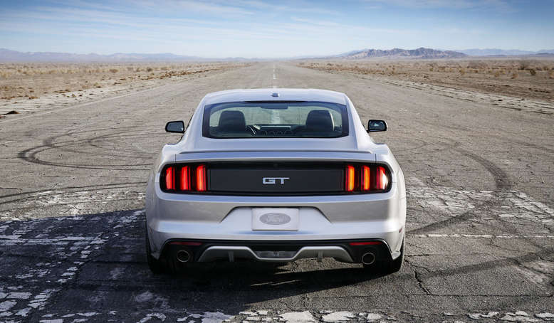 Ford Mustang, Heck, 2013, Foto: Ford