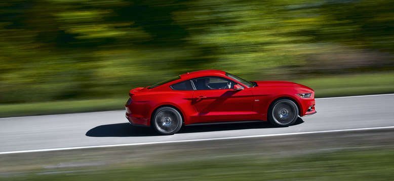 Ford Mustang Coupé, Seitenansicht, 2014, Foto: Ford