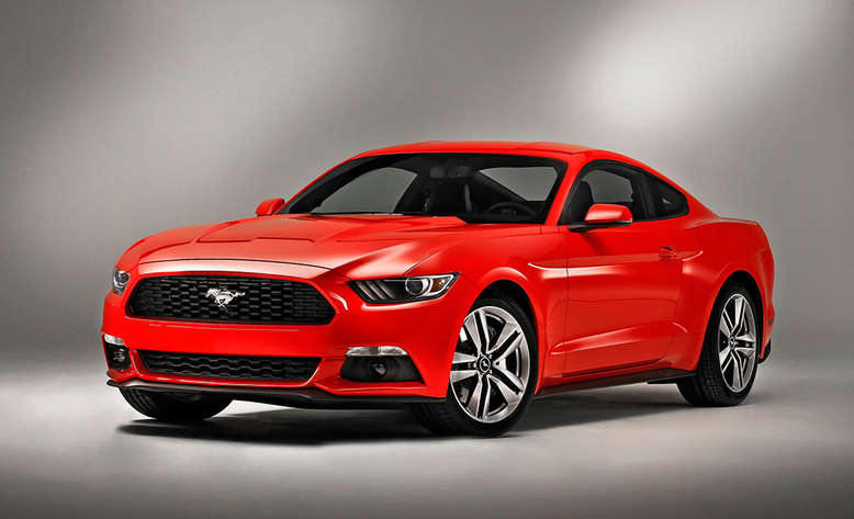 Ford Mustang Coupé, Front, 2014, Foto: Ford