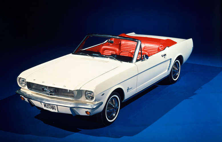 Ford Mustang Covertible, 1964, Foto: Ford