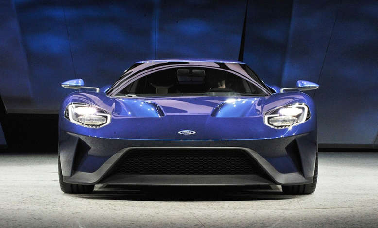 Ford GT, Front, 2016, Foto: Ford
