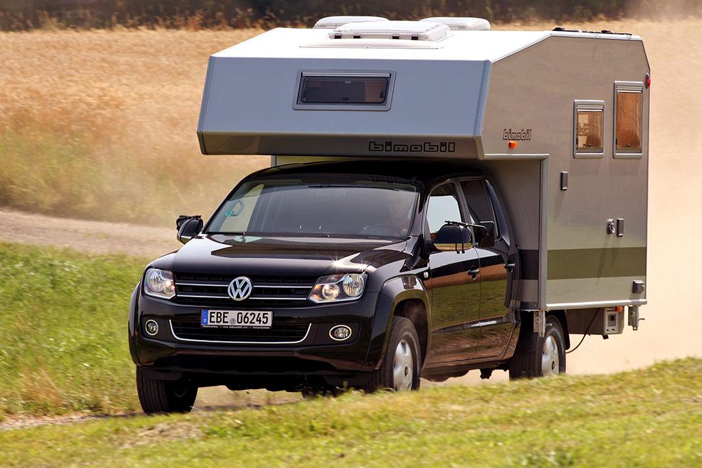 VW Amarok: So wird der PickUp zum Wohnmobil