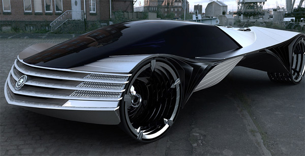Cadillac World Thorium Fuel Konzeptwagen