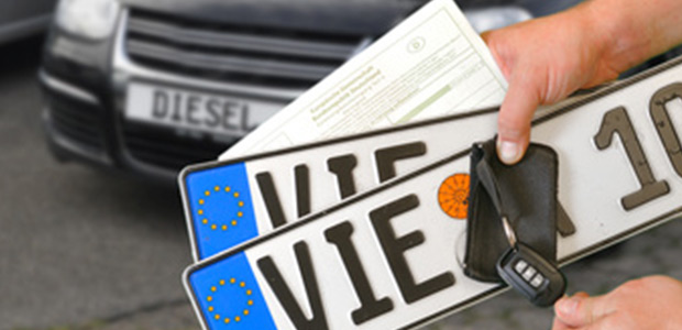DIN-Zertifiziert kurzes Autokennzeichen Auto-Schild Fahrradtr/äger /& Anh/änger individuelles EU Wunschkennzeichen 350 x 110 mm PKW Nummernschild schildEVO 1 Kfz Kennzeichen DHL-Versand