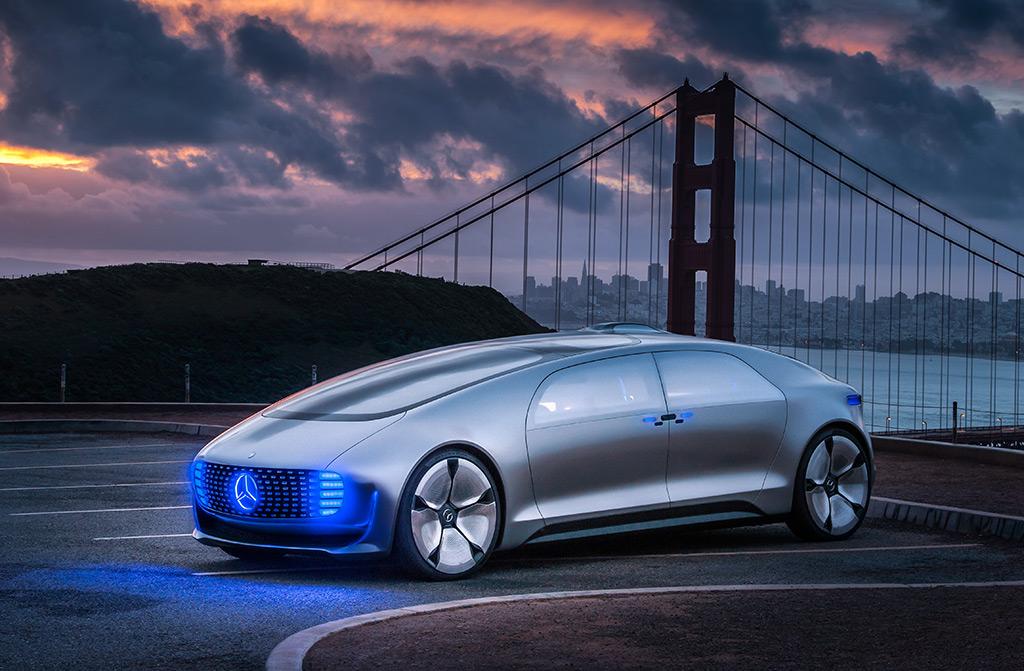 Zukunftsvision selbstfahrendes Auto