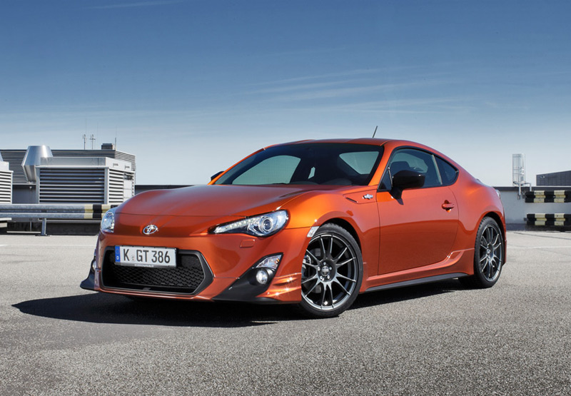 Toyota GT86 mit TRD Tuning